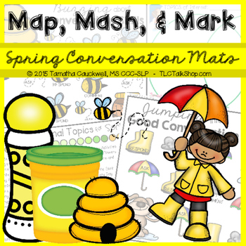 Spring Conversation Exchange: Map, Mash, & Mark