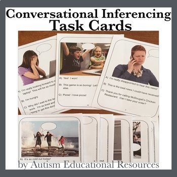Conversational Inferencing Task Cards