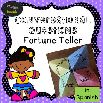 Conversational Questions Fortune Teller in Spanish