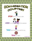 Conversational Skills Poster