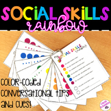 Conversational Skills Rainbow - Reference Booklet for Social Skills!