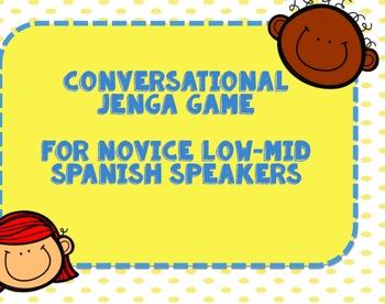 Conversational Spanish Game
