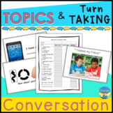 Conversation Skills Activities and Games for Topics and Tu