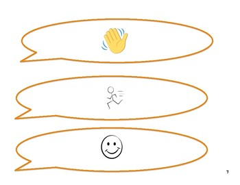 Conversational Turns Graphic Organizer
