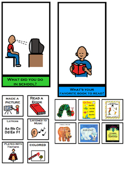 Conversational Visual Starters Combo: Breakfast, Lunch and Afterschool (Autism)