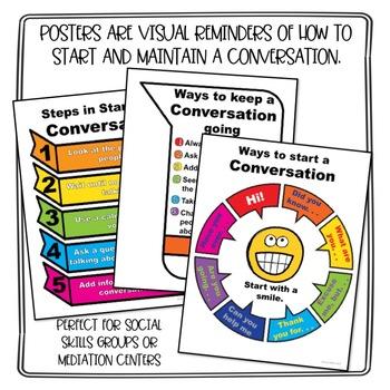 Conversations Social Skills Lesson