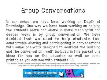 Conversations and Discussions in the Elementary Classroom