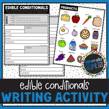 Converse, Inverse, Contrapositive: Edible Conditionals Activity; Geometry, Logic