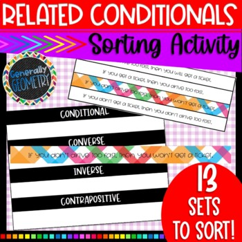 Related Conditionals: Converse, Inverse, Contrapositive Sort; Geometry, Logic