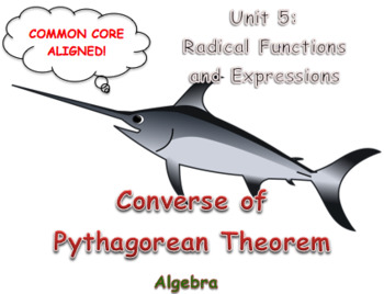 Converse of Pythagorean Theorem