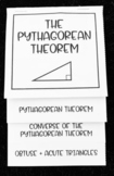 Converse of the Pythagorean Theorem (Geometry Foldable)