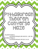 Converse of the Pythagorean Theorem Maze