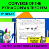 Converse of the Pythagorean Theorem Notes