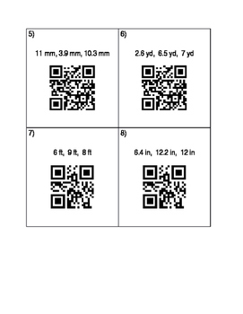 Converse of the Pythagorean Theorem QR Codes