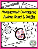 Measurement Conversion Anchor Chart & Drill (Metric & Customary)