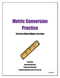 Conversion Cheat Sheet- Metric