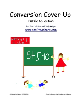Conversion Cover Up Puzzle Collection