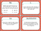 Conversions: Customary & Metric Task Cards