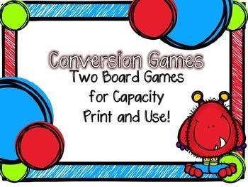 Conversion Games-Capacity