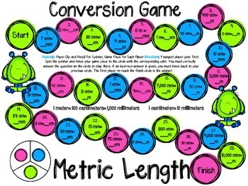 Conversion Games-Standard and Metric Length