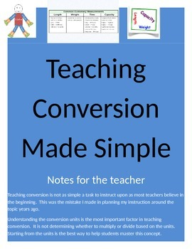 Conversion Made Simply