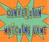 Conversion Matching Game
