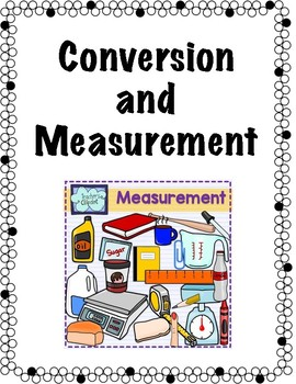 Conversion and Measurement Chart