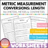 Measurement: Conversion of Kilometers, Meters and Centimeters