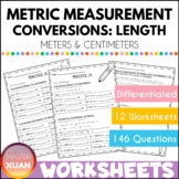Measurement: Conversion of Meters and Centimeters