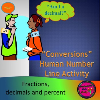 Conversions - Human Number Line Activity