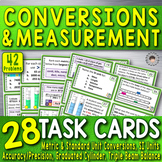 Unit Conversions & Measurement ~28 Task Cards~ 42 Problems