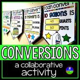 Measurement Conversions Math Pennant Activity