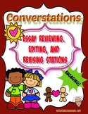Converstations Carousel:  Planning, Revising, Editing, and Rewriting Essays
