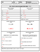 Convert/Compare Rational Numbers Quiz
