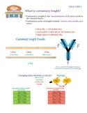 Convert Customary Units of Length InstaChart