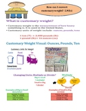 Convert Customary Weight InstaChart
