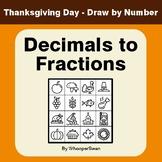 Thanksgiving Math: Convert Decimals to Fractions - Math &