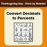 Thanksgiving Math: Convert Decimals to Percents - Math & A