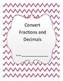 Convert Fractions and Decimals