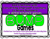Improper Fractions and Mixed Numbers Games {4 Differentiated Games}