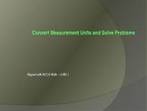 Convert Measurement Units Interactive Presentation - 5.MD.1
