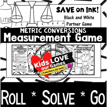 Convert Measurements Game: Metric Units: 5.MD.A.1: 5th Grade Game