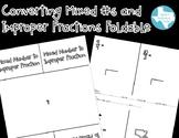 Convert Mixed Numbers & Improper Fractions