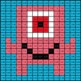 Convert Percents to Decimals - Monster Mystery Picture - Google Forms