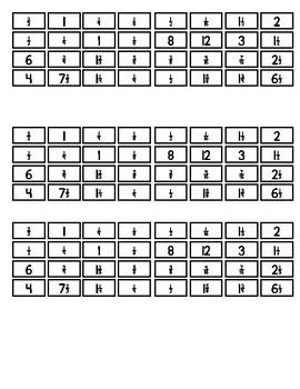 Convert Recipe Amounts to 1/2, 1/4, & 3x 5.NF.B.4,5.NF.B.6,5.NF.B.7, & 6.NS.A.1