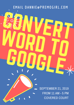 Convert Word Documents to Google Documents
