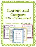 Convert and Compare Measurement Pack Common Core Grade 4