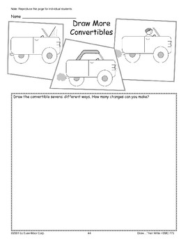 Convertible (Draw Then Write)