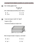 Converting Arithmetic and Algebraic Expressions into Equivalent Expressions