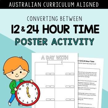 Converting Between 12 - 24 Hour Time CODE BREAKER⎜AUSTRALIAN CURRICULUM